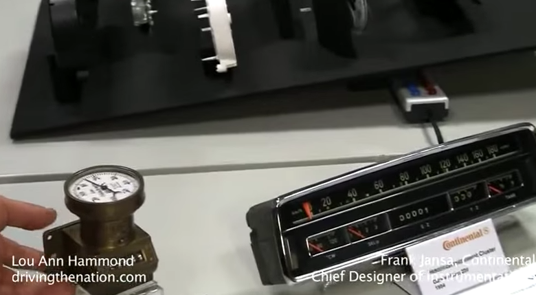 The history of the speedometer and odometer