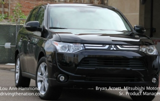 Bryan Arnett on the 2014 Mitsubishi Outlander on Driving the Nation