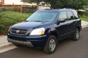 2004_honda_pilot-300x200 Acura and Honda recalled because of Takata airbags Acura Automobiles and Energy Honda