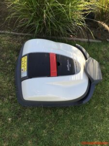 Honda's Mimo - somewhere between a lawn mower and a Rumba vacuum cleaner