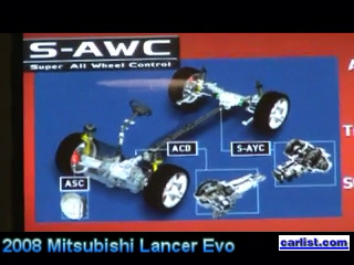 2008 Mitsubishi Lancer Evolution MIVEC engine on Driving the Nation