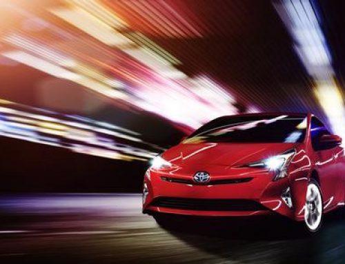 2016 Toyota Prius unveil in Las Vegas, Nevada