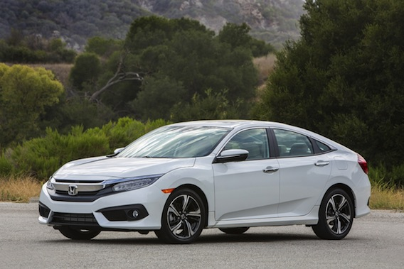 View Larger Image 2016 Honda Civic Pricing Mpg And The Turbocharged Engine On Driving Nation