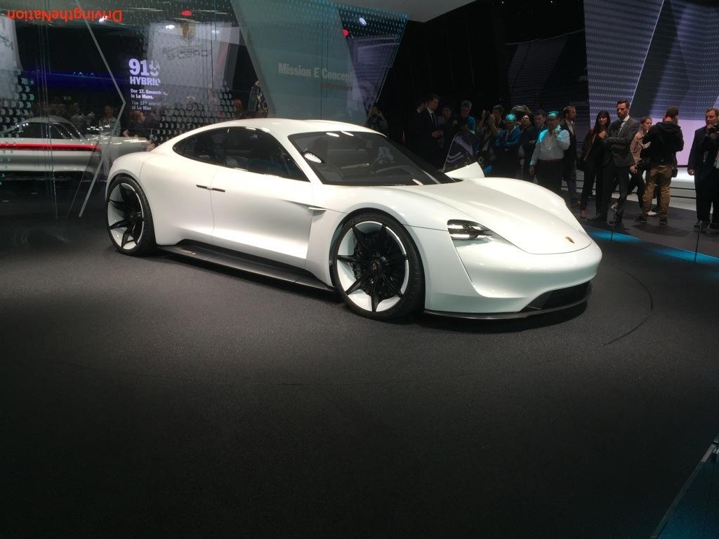 2015 Frankfurt Motor Show (IAA) Porsche
