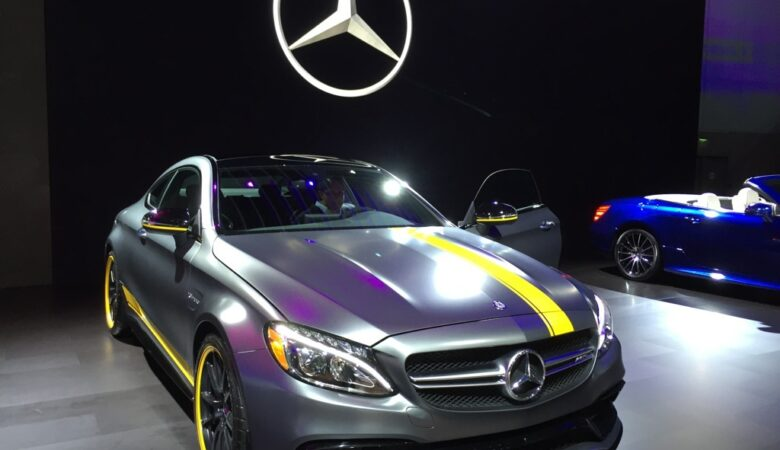 2015 Los Angeles auto show in pictures Mercedes-Benz