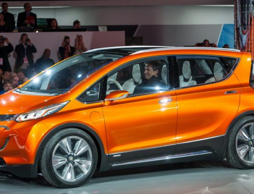 First drive Chevy Bolt 200 mile all electric vehicle at CES2016