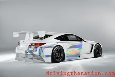 Lexus RC F GT3 Racing Concept Rumbles the 2014 Geneva Motor Show ...