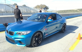 Kicking it up a notch with Bill Auberlin in a BMW M2 around Laguna Seca