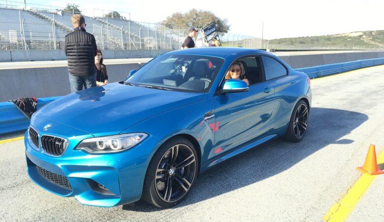 Kicking it up a notch with Bill Auberlin in a BMW M2 around Laguna Seca