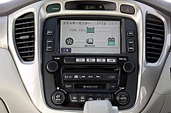 Fuel cell navigation display