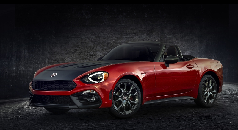 2017 Fiat 124 Spider Elaborazione Abarth at NYIAS