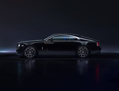 Rolls-Royce Wraith Black badge series at NYIAS