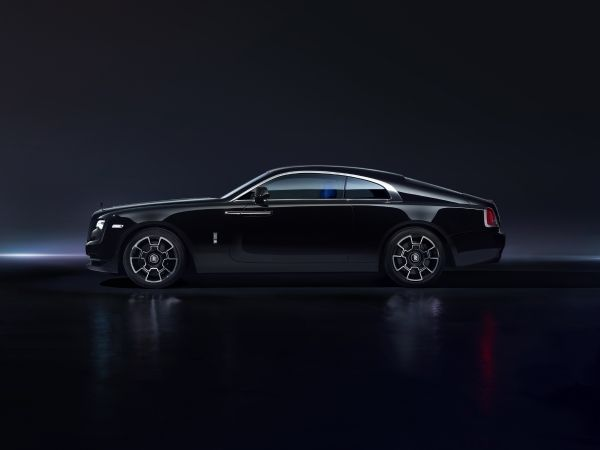 Rolls-Royce, Wraith, Black badge series, NYIAS, new york auto show, Spirit of Ecstasy