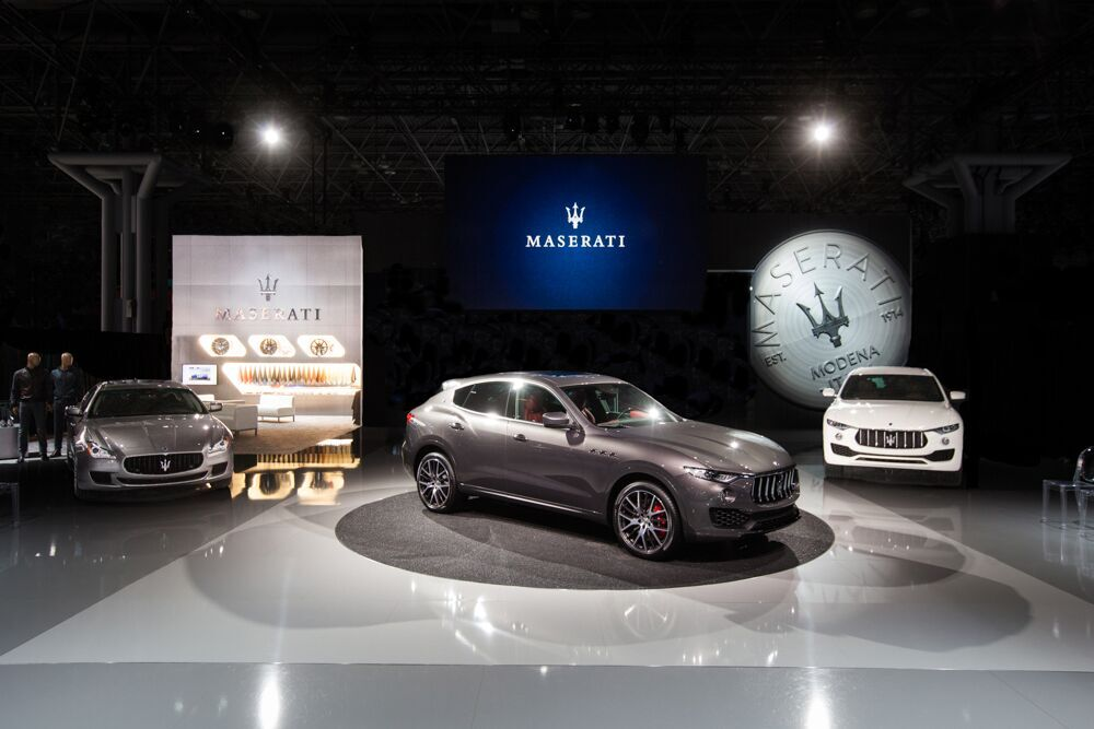 Maserati debuts luxury SUV Levante at NYIAS
