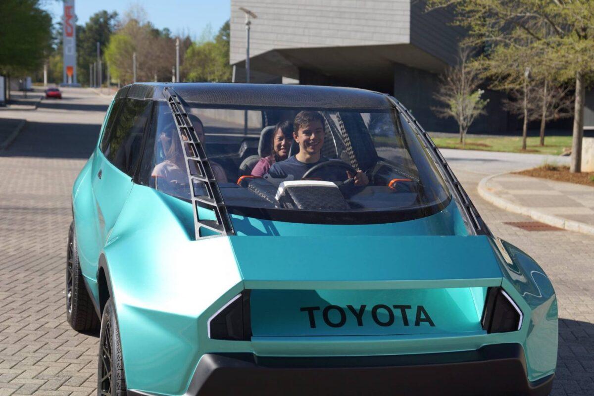 clemson tigers, carbon fiber, deep orange 6, toyota, concept car, textreme, oxeon