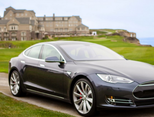 Stay at the Ritz-Carlton, drive a Tesla