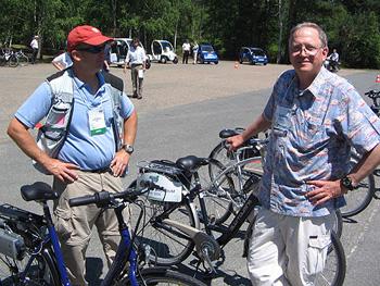 2006 Challenge Bibendum electric bicycles
