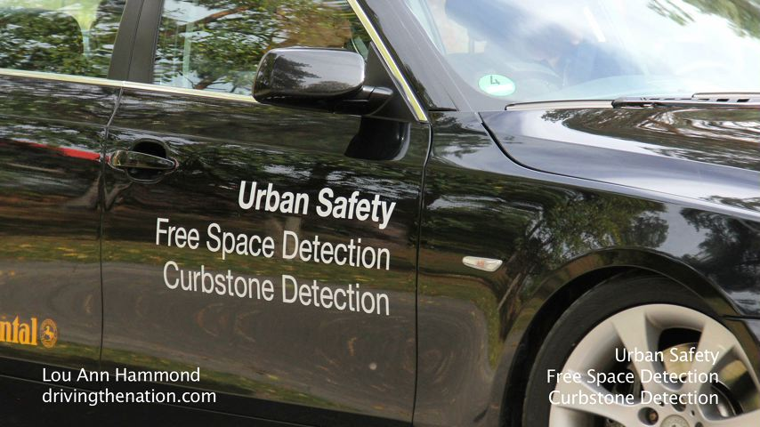 Continental's urban safety curbside detection