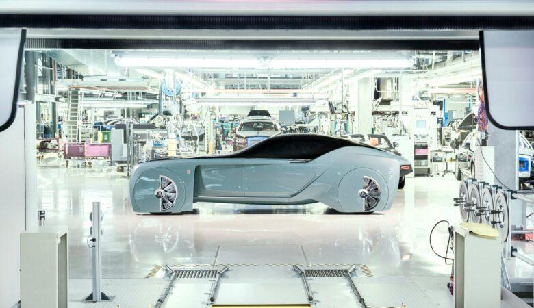 John Batchelor radio, Rolls-Royce Vision Next 100