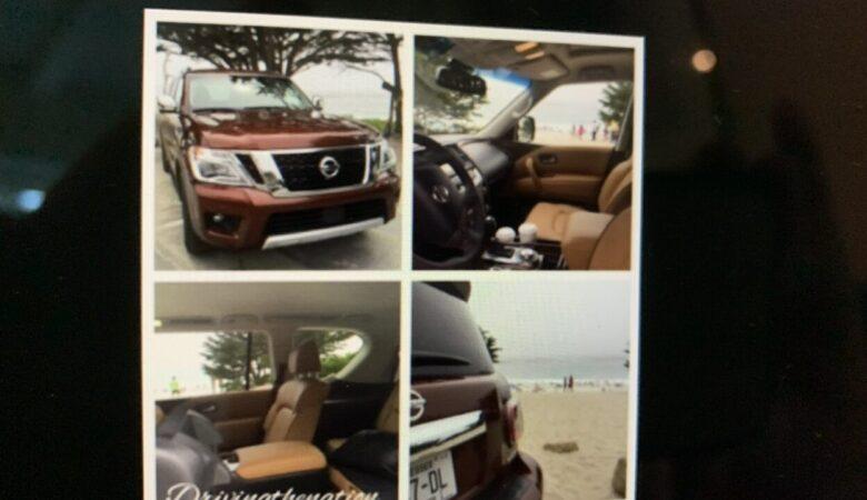 California fires WAPO carchat Nissan Armada