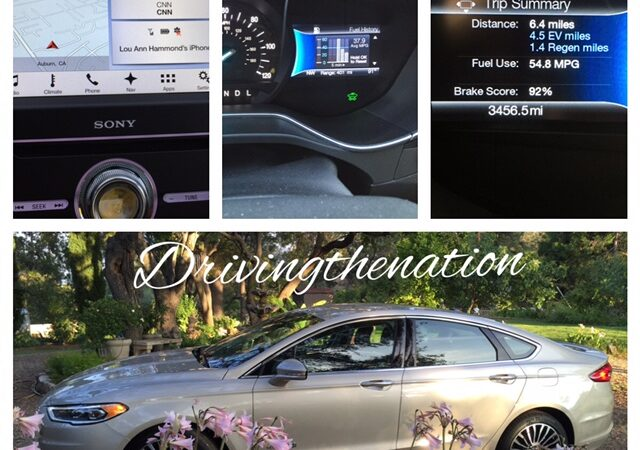 ford fusion hybrid with SYNC