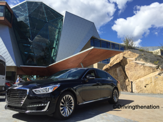 Genesis G90, WAPO, real wheels, carchat, washington post
