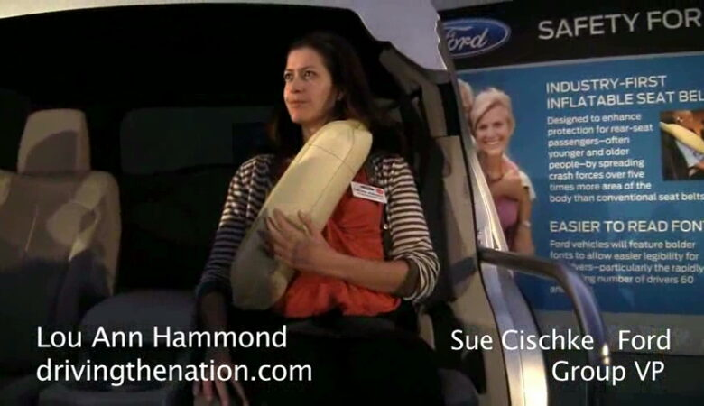 Ford safety belt