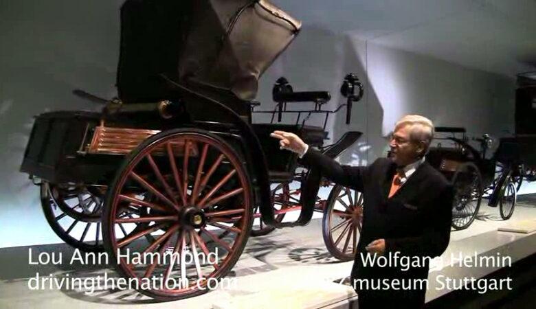 Mercedes-Benz museum's twentieth century pieces of art