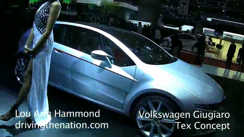 Volkswagen Giugiaro Tex Concept At The 2011 Geneva Motor Show On