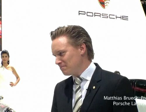 Porsche's Brueck on luxury cars in Brazil on Driving the Nation