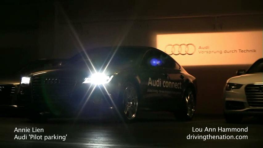 Audis Piloted Driving A Self Parking Car At CES Driving The Nation - Audi self parking