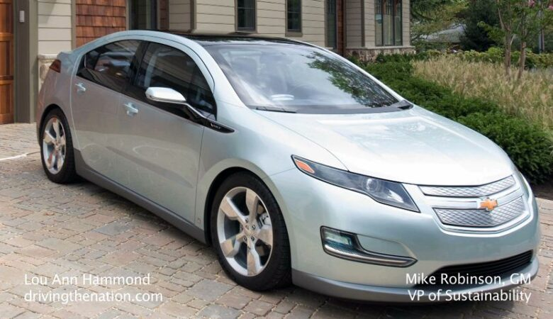 Most significant concept car of the year goes to… Chevrolet Volt!