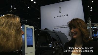 Lincoln's female engineer, Elaine Bannon