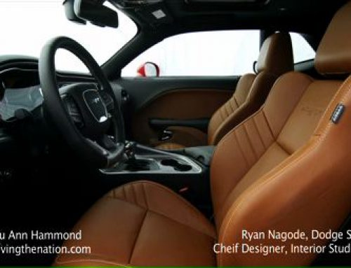 2015 Dodge Challenger exterior and interior design on Driving the Nation