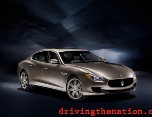 Maserati Zegna Quattroporte worldwide premier at the Geneva Motor Show