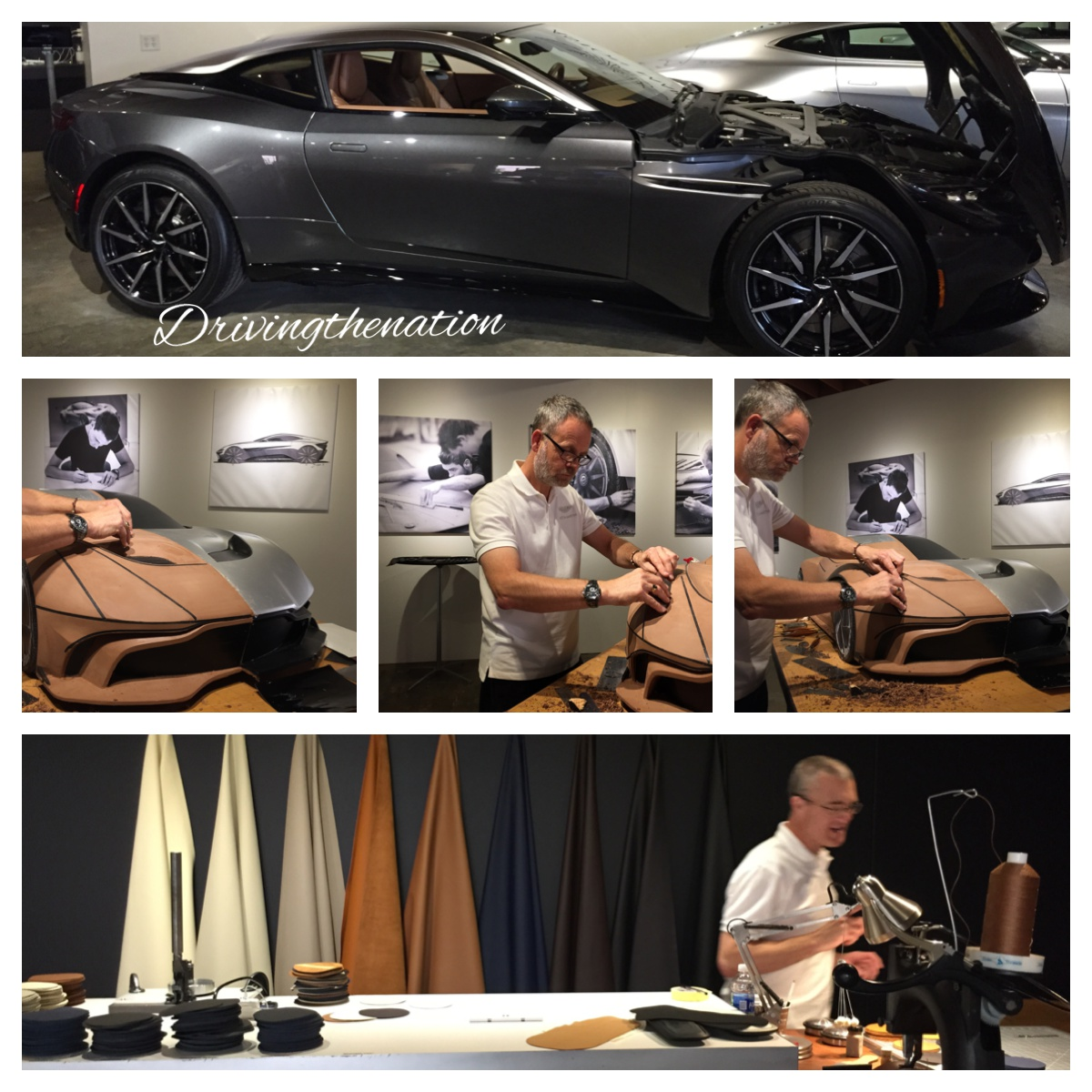 Aston Martin DB11 car designers