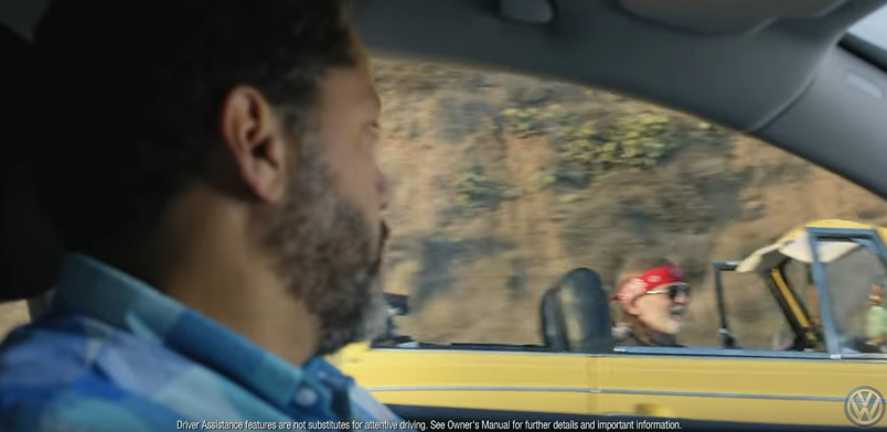 Willie Nelson, VW, on the road again, car commercial, volkswagen