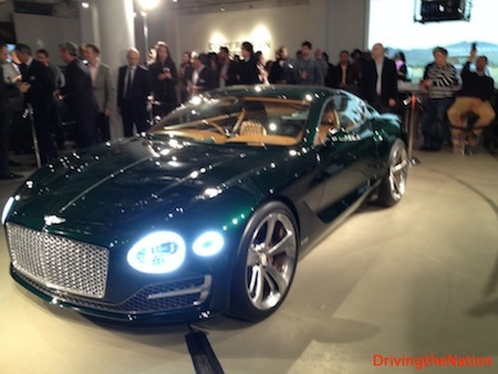 Bentley EXP10