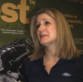 Barb Samardzich is Ford's vice president of global product programs