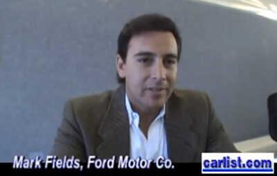 Mark Fields Ford Motor Company profits