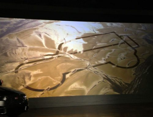 Land Rover drawing lines in the sand before NAIAS on Driving the Nation
