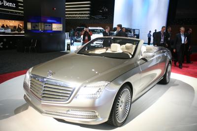 Mercedes-Benz Ocean Drive Pebble Beach Concours d'Elegance