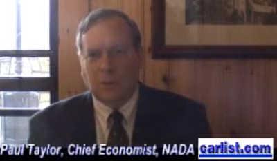 Paul Taylor Chief Economist NADA