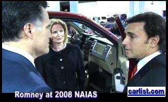 Mitt Romney NAIAS Mark Fields