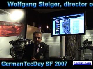 Wolfgang Steiger at 2007 Germantec day San Francisco California