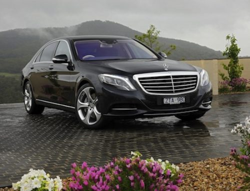 The 2014 Women's World Car of the Year is the Mercedes-Benz S-Class on Driving the Nation