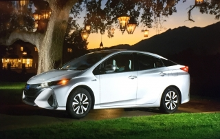 2017 Toyota Prius Prime, plug-in hybrid, electric vehicle