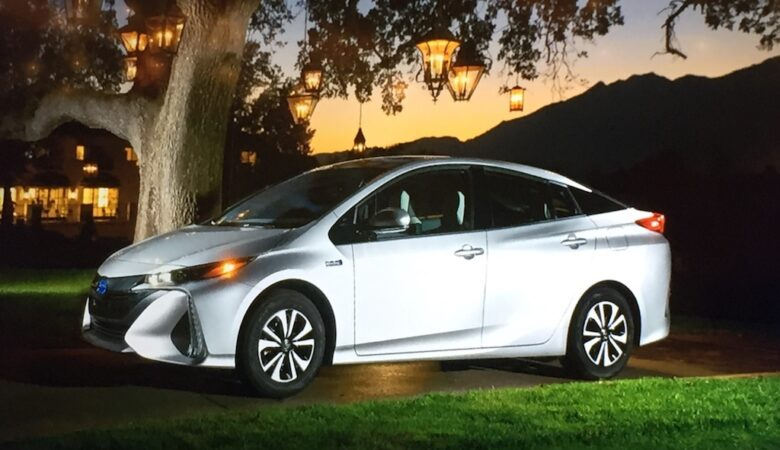 2017 Toyota Prius Prime, plug-in hybrid, electric vehicle