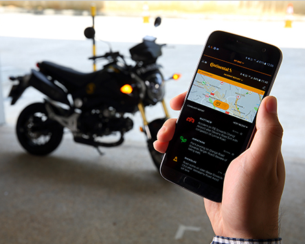 Continental Brings eHorizon to motorcycles