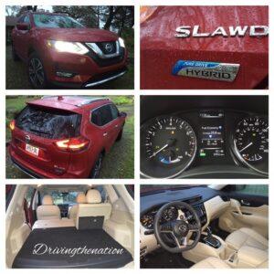 2017 Nissan Rogue SL AWD hybrid